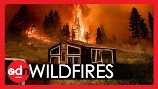 Wildfires RAVAGE US West Coast as Bootleg Blaze Expands to Epic Scale