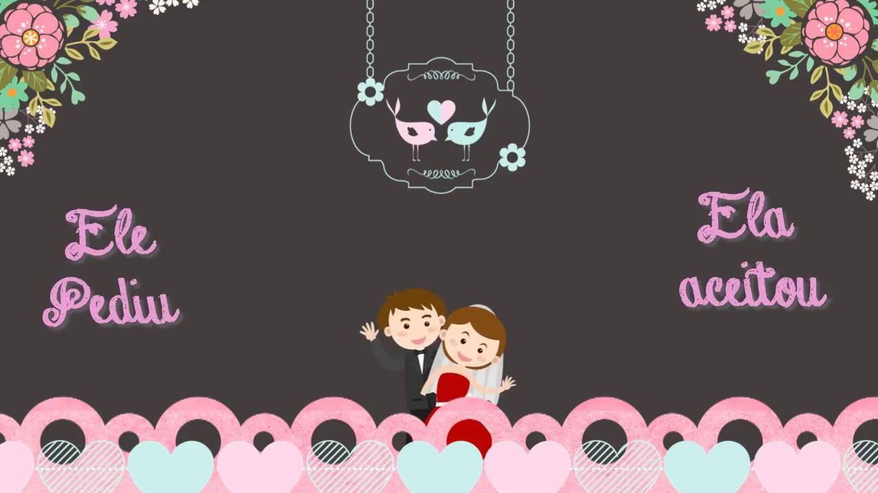Convite Virtual Animado Casamento Youtube