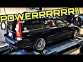 Our M3 Killing Volvo V70R Put Down A Surprising Number On The Dyno