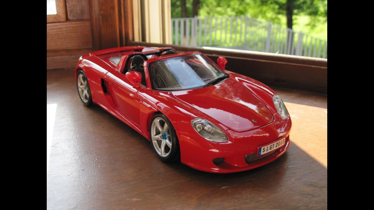 Review of 1/18 Porsche Carrera GT by Maisto - YouTube