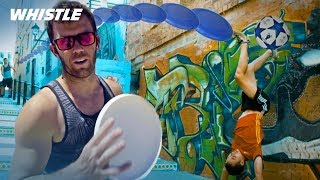 Brodie Smith in Spain! | INSANE Soccer & Frisbee Trick Shots