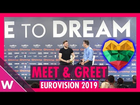 "lithuania-press-conference:-jurij-veklenko-""run-with-the-lions""-@-eurovision-2019-