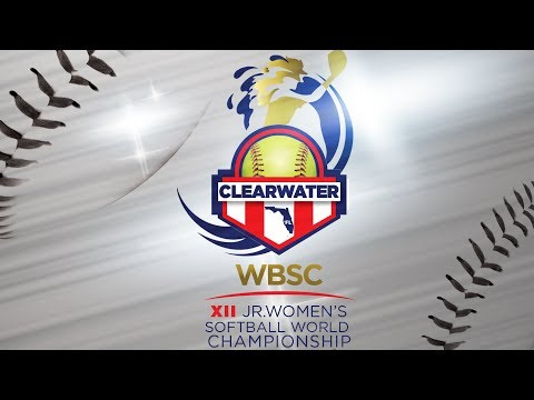 WBSC JWWC | July 29, 2017 | Eddie C. Moore Softball Complex | Field 8