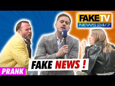 FAKE NEWS !!! ON INVENTE DES NEWS COMME A LA TV...