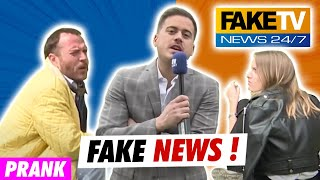 FAKE NEWS !!! ON INVENTE DES NEWS COMME A LA TV...