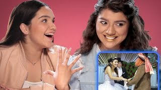 My Dream Quinceañera Reacts   Shany | AwesomenessTV Reacts w/ Airam & Shany