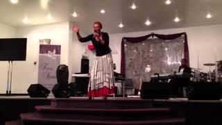 """Prophetess Bernadine Bell-McGhee - """"Unstop My Wells"""" Part 4"""