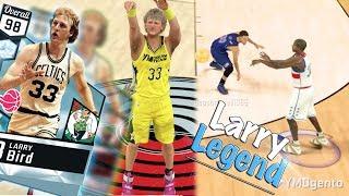NBA 2k17 MyTeam - Double Ankle Breaker on Steph Curry! 98 Larry Legend Broken Jumpshot!