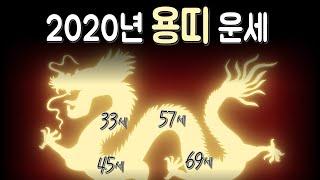 2020년 용띠 신년운세(52년생,64년생,76년생,88년생,2000년생) 용처럼 날아봅시다.