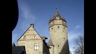 Германия. Средневековый замок Алтена. Germany. The medieval castle of Altena.(Мои путешествия по миру. Германия. Земля Северный Рейн-Вестфалия, средневековый замок Алтена., 2016-04-03T00:07:51.000Z)