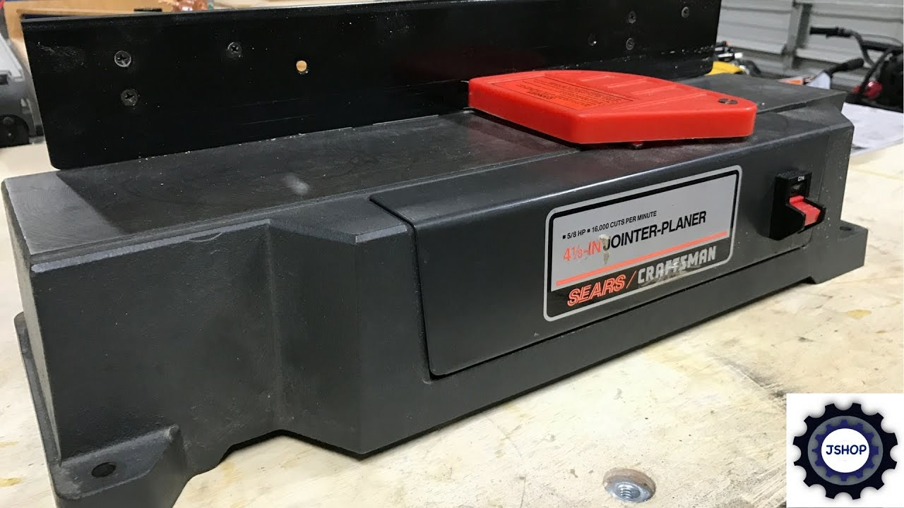 Craftsman Jointer Planer Combo
