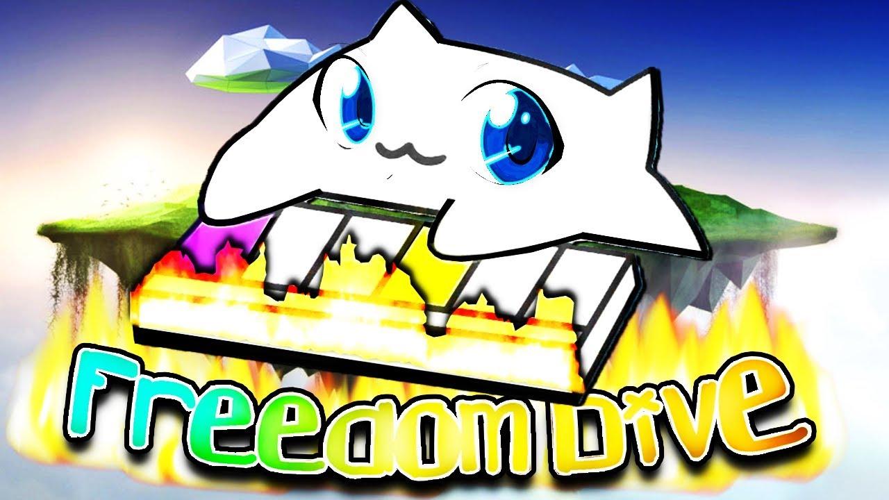 Worlds Fastest Bongo Cat Freedom Dive Youtube