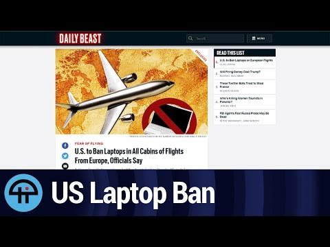 US To Ban Laptops On Europe Flights