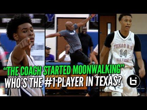 """That Head Coach Started MOON-WALKING!"" #1 Ranked 9th Graders RJ Hampton vs Greg Brown."