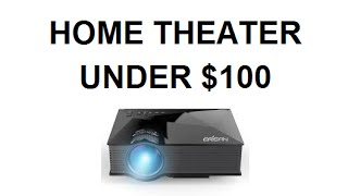 Home Theater Under $100 – Erisan Home Theater Projector Review