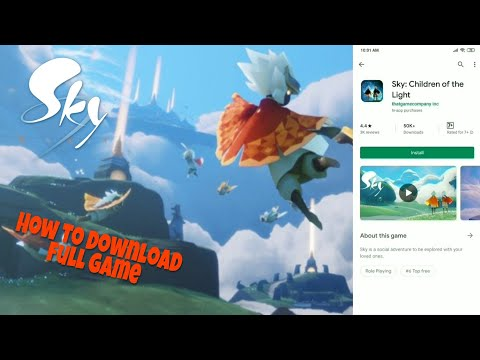 How To Download Sky Children Of The Light In Android From Play Store