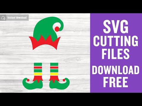 Elf Svg Free Christmas Svg Elf Hat Svg Instant Download Kids Christmas Svg Free Vector Files Boy Elf Svg Funny Svg Png Dxf Eps 0155 Freesvgplanet