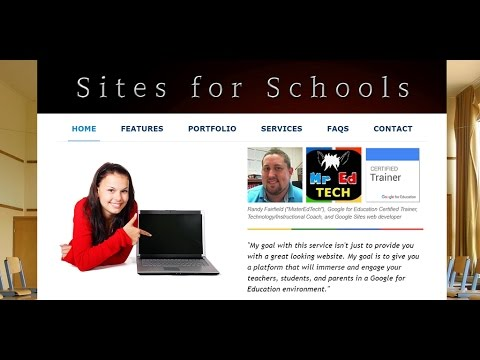 How to Update Your Teacher Webpage on Classic Google Sites