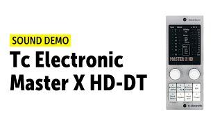 TC Electronic Master X HD-DT & Brickwall HD-DT Demo (no talking)