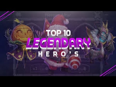 Top 10 Heroes In Castle Clash 2017 Edition