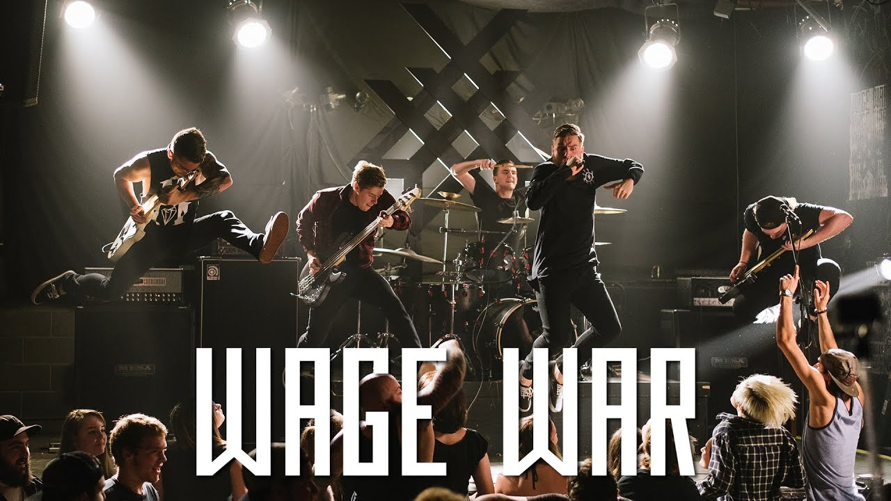 Wage war alive official music video youtube wage war alive official music video malvernweather Images