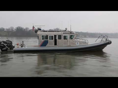 CBP Air and Marine Operations SAFE Boats Monitoring DC Waterways for 58th Inauguration