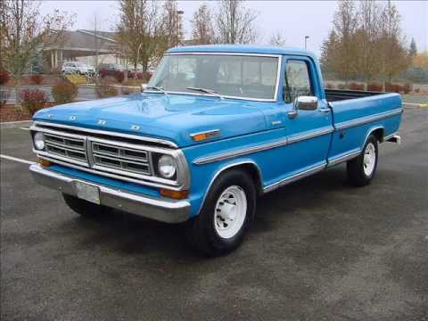 1972 Ford F250 - Lots of New including Motor w/50K Miles - $4,950