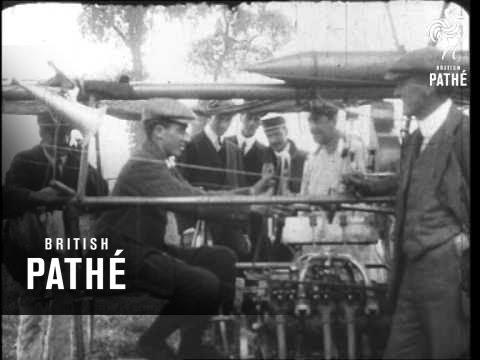 Record British Airship Flight Aka Airship