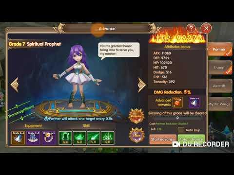 Summoner Knight:Dragon Blaze #upgrade Partner 7 Ke 8