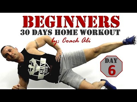 beginners home workout day 6 of 30 full body workout for