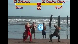 Repeat youtube video Super Street Fighter II - COSPLAY Challengers