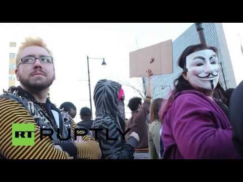 USA: Far right wing holds Kansas Kristallnacht rally