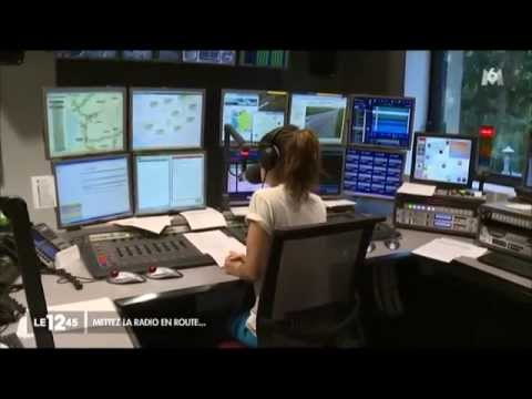 Radio VINCI Autoroutes sur M6 dans Le 12/45 du 08 août 2015