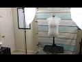 eBay work space set up - Live clothing resell preparation and listing process