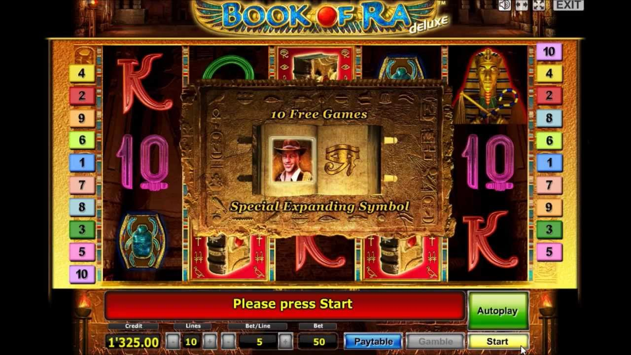 Book Of Ra Free Bonus