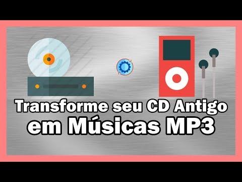 Como converter  Cd de música pra formato  MP3