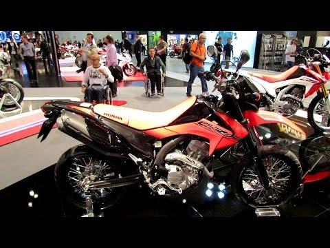 2014 Honda CRF250M Walkaround - 2013 EICMA Milan Motorcycle Exibition