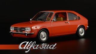 Предсерийный финт: Alfa Romeo Alfasud 1971 || Minichamps || История одной модели