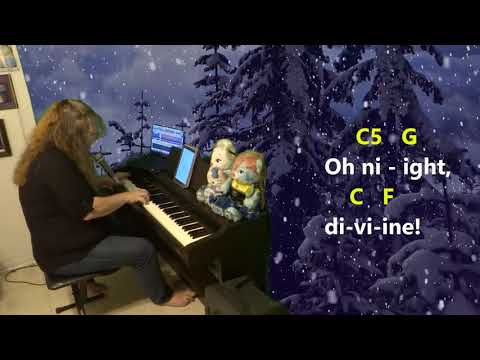 Oh Holy Night - CHORDS - KEY: C Maj - YouTube