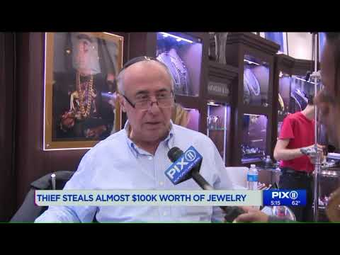 Man steals almost $100,000 in jewelry from Manhattan shop