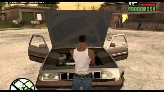 [GTA SA Cleo] CJ может чинить машину [Обзор]