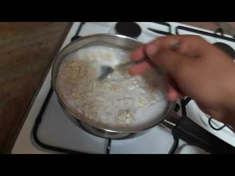 How to cook an oatmeal with milk ?