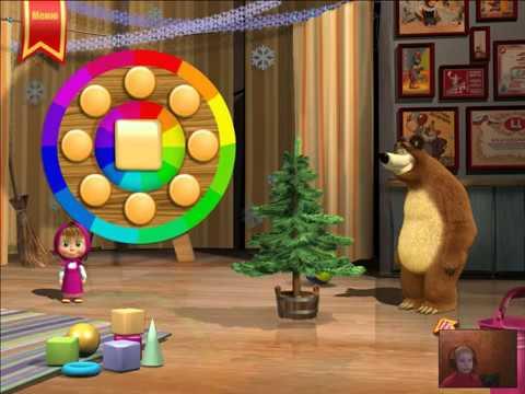 Маша и Медведь развивающие задания для малышей - YouTube