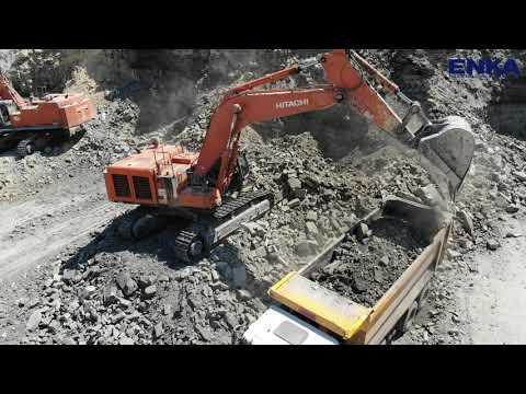 Hitachi ZX670LCH-3 ZX870LCH-3 Excavator Coal Mine ( İşkaya İnşaat )