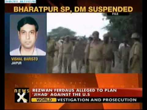 Bharatpur SP, District Magistrate suspended over communal violence