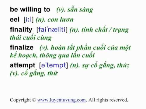 Learn English Vocabulary - Grade 12 - Unit 01 - Lesson 01.flv