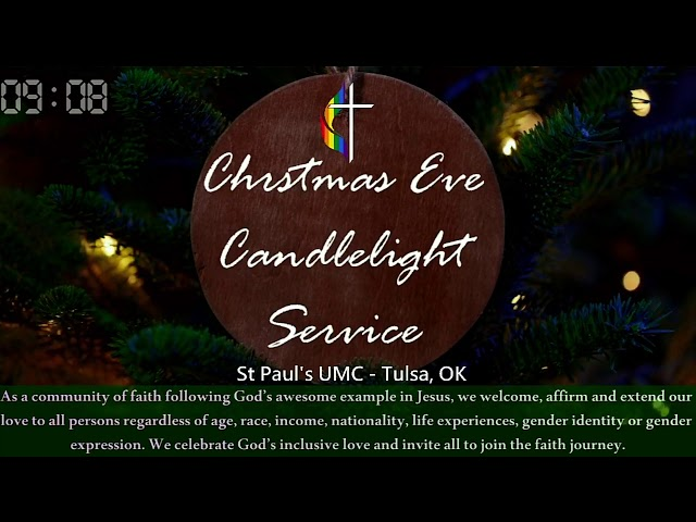 Christmas Eve Candlelight Service 2020