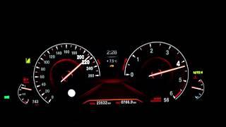2018 BMW 540d xdrive (G30) Beschleunigung und Fahrleistungen