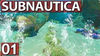 Subnautica #01 Der Tauch Simulator ► Ang►spielt