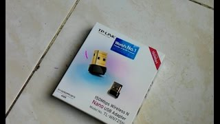 unboxvlog 01 unboxing dan review nano usb adapter tp link tl wn725n 150mbps wireless n